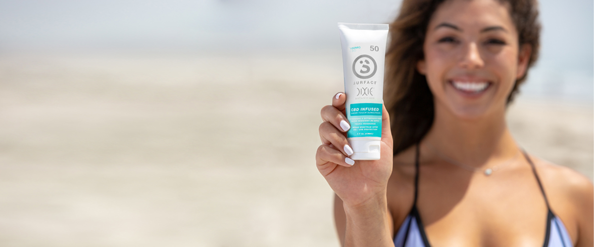 Dixie Botanicals®, Subsidiary of Medical Marijuana, Inc., Announces Partnership with Surface Products Corp. To Sell Fitness-Focused CBD-Infused Sunscreen